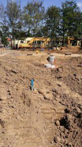geodeta w Poznaniu inwentaryzuje kanalizację